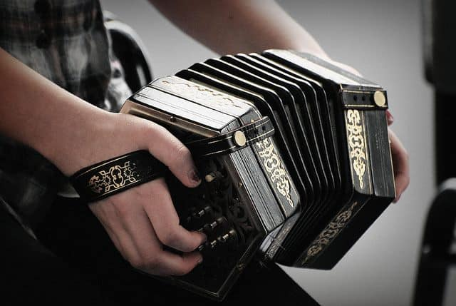 Playing Concertina